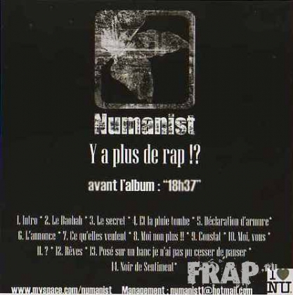 Numanist - Y A Plus De Rap!? (2006)