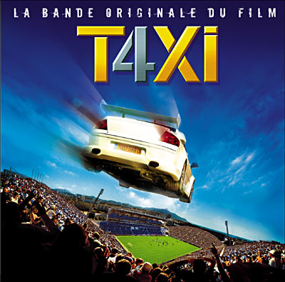 taxi 4 original soundtrack 2007. Black Bedroom Furniture Sets. Home Design Ideas