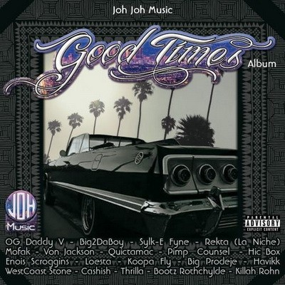 Johjohmusic - Good Times Album (2017)